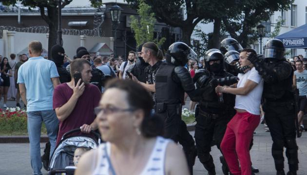 Протести у Білорусі не вщухають п'ятий день