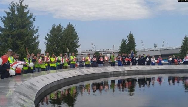 Працівники Белавіа вийшли на протест