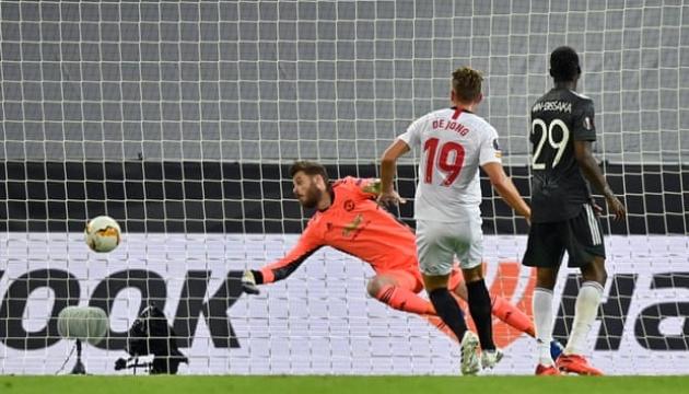 Ліга Європи: «Севілья» обіграла «МЮ» і вийшла у фінал