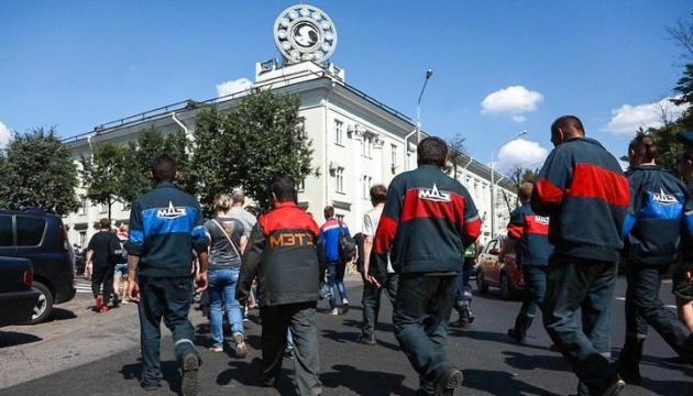 Білоруська опозиція закликає продовжувати страйки