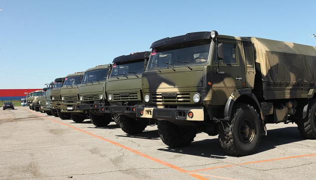 Россия перебросила на Донбасс 20 грузовиков со стрелковым оружием - разведка