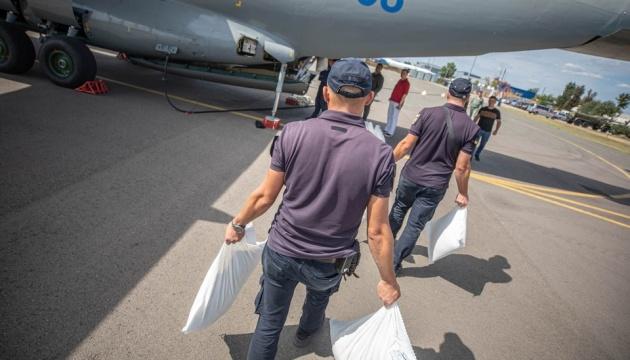 Ucrania envía ayuda humanitaria a Beirut