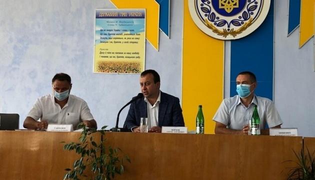 Голова Вінницької ОДА зустрівся з жителями Піщанського району
