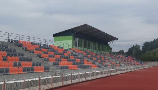 На Рівненщині реконструюють стадіон для легкоатлетів