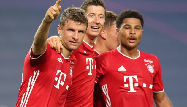 Лига чемпионов: «Бавария» победила «Лион» и вышла в финал