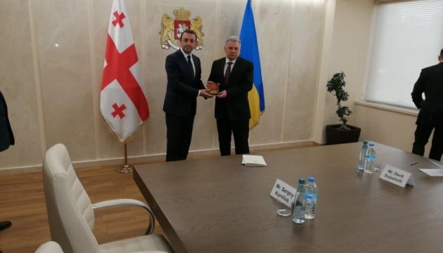 Ukraine, Georgia sign defence cooperation program