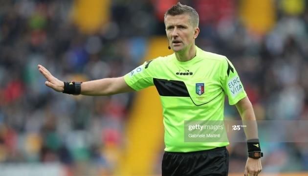 Фінал Ліги чемпіонів УЄФА розсудить італієць Орсато