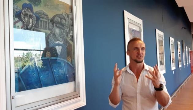 Виставка у Гданську презентує творчість українського художника Василя Нецка