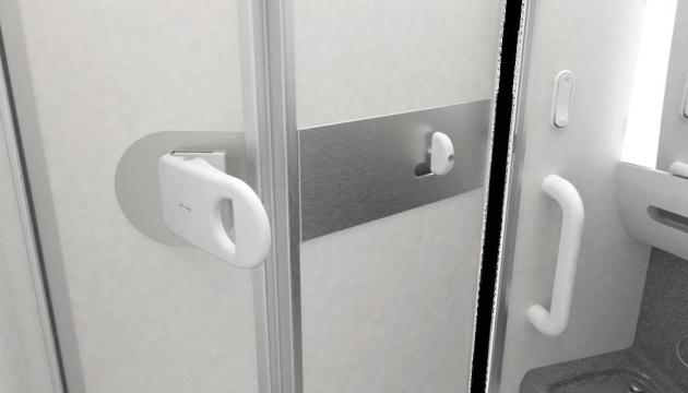 Туалеты в японских самолетах можно будет открыть локтем - новые дверные ручки уже тестируют