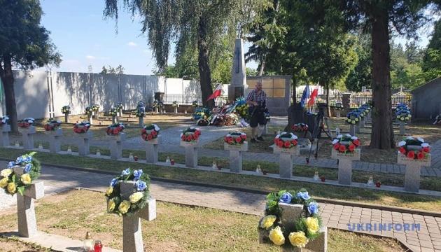 В польском Ланьцуте открыли отреставрированное кладбище воинов УНР