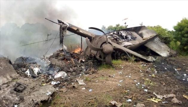 В Южном Судане потерпел крушение самолет с восемью людьми на борту