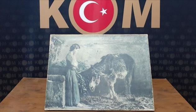 У Туреччині затримали контрабандистів з картиною відомого італійського художника