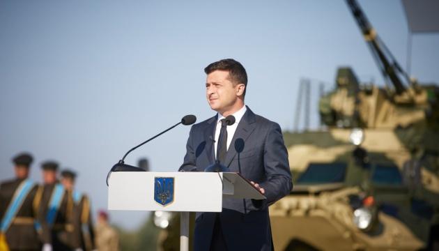 Зеленський - про єдність президентів: Ніхто з нас не дозволить розірвати Україну заради політики