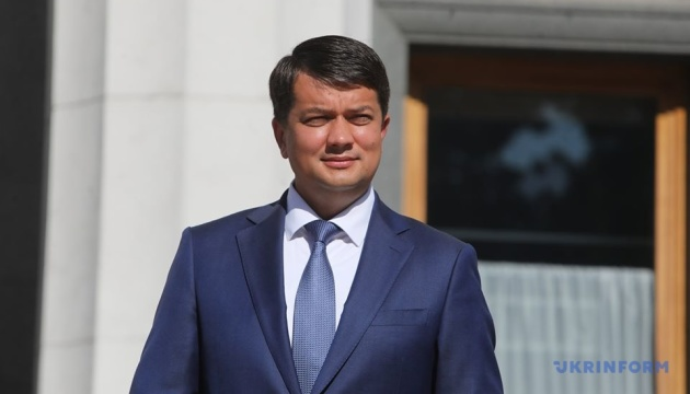 Corona-Infizierung: Parlamentschef Rasumkow fühlt sich besser, sein Test ist noch positiv