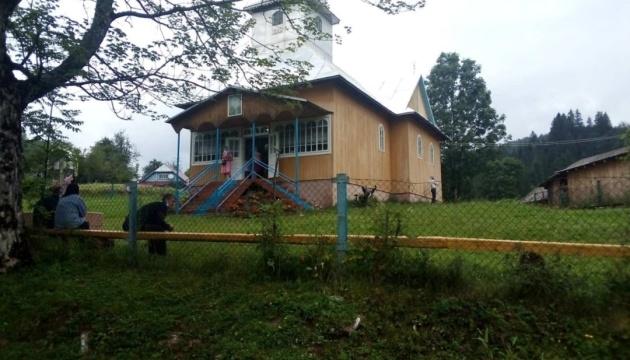 Представники Московського патріархату захопили храм ПЦУ на Закарпатті