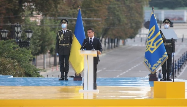 President: Ukraine suffers no combat casualties for 29 days in a row