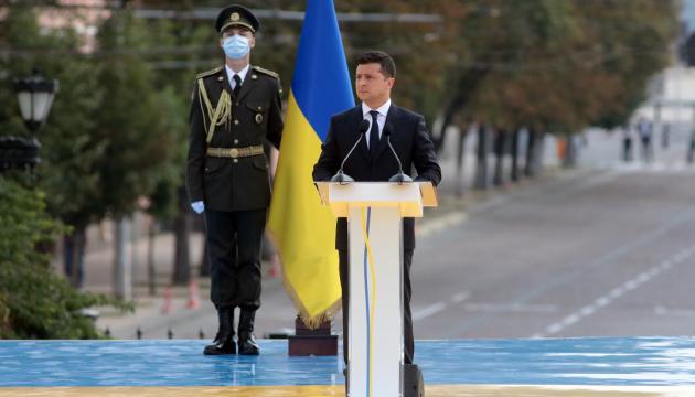 Unabhängigkeitstag: Präsident ruft Ukrainer zur Volkseinigkeit auf