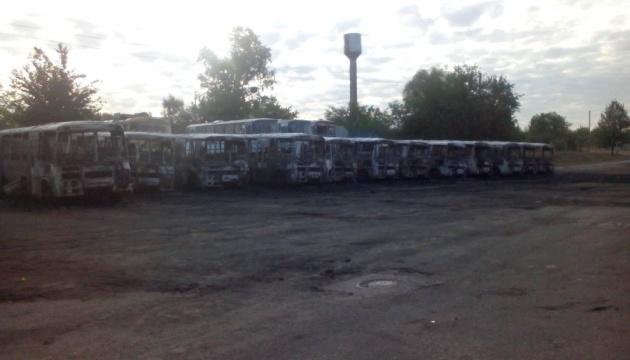 В Черкасской области сожгли десяток автобусов Золотоношского автопарка - депутат