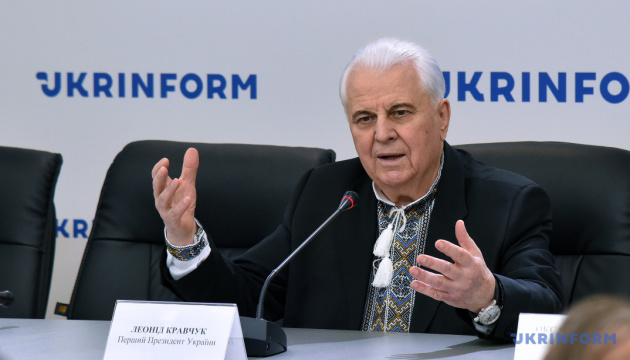 Kravchuk comments on issue of water supply to Crimea