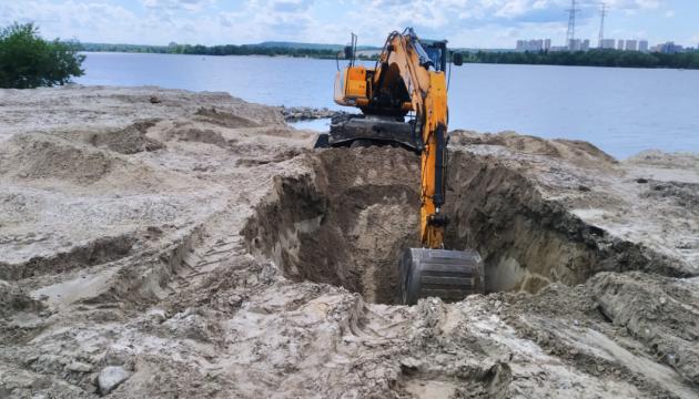 В Киеве реконструируют систему дюкерных переходов через Днепр