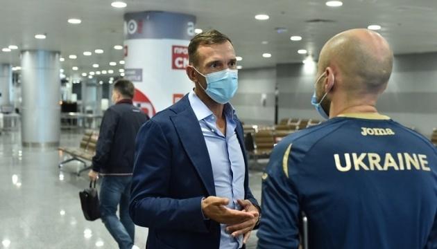 Сборная Украины по футболу начинает в Харькове подготовку к Лиге наций