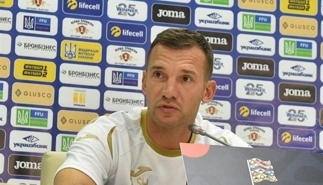 Шевченко: В Лиге наций будем наигрывать состав на Евро и мировой отбор