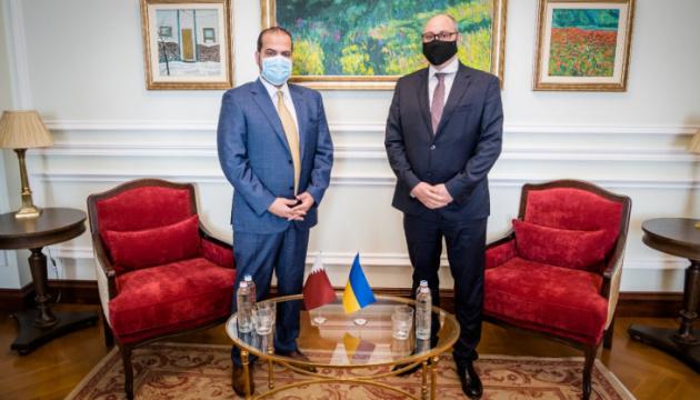 Außenministerium kündigt neue gemeinsame Projekte der Ukraine mit Katar an