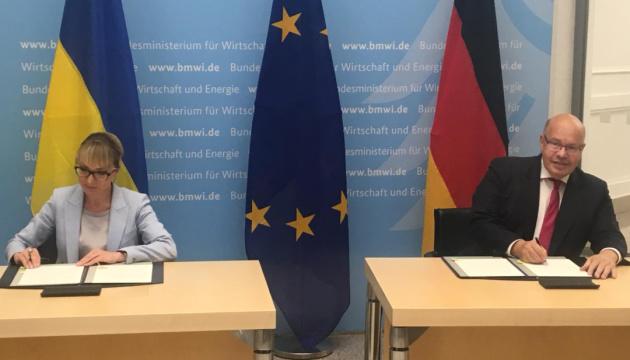 Україна та Німеччина підписали заяву про енергетичне партнерство