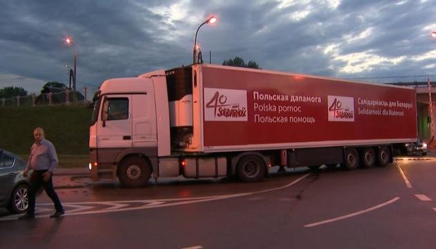 Беларусь не впускает гумконвой из Польши
