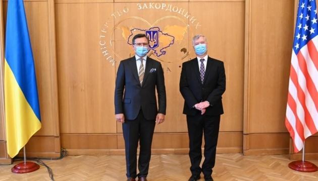 Kuleba, Biegun discuss Ukraine-US strategic partnership