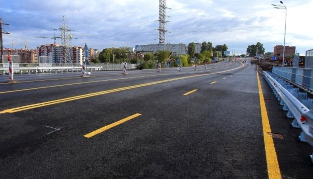 В Тернополе завершили реконструкцию Гаивского моста