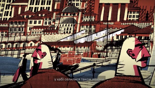 ロシア発歴史フェイクに対抗 ウクライナ南部の都市の歴史をアニメで
