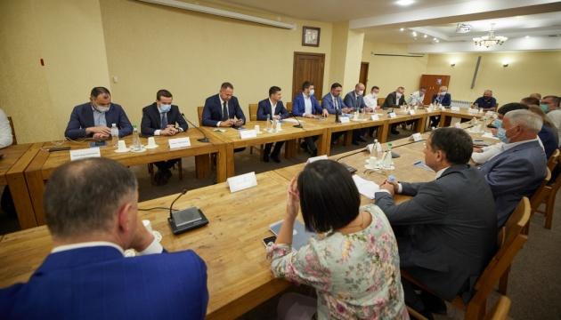 President meets with entrepreneurs of Kirovohrad region