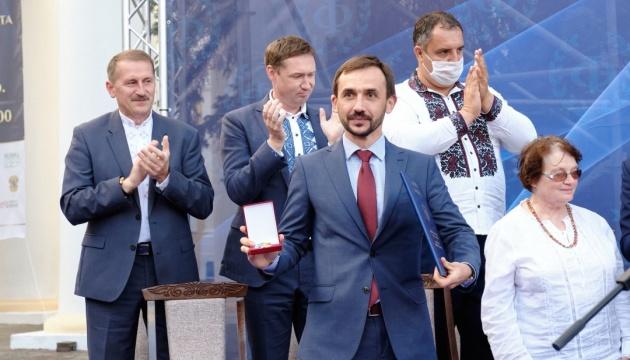 У Дрогобичі нагородили лауреата премії Франка