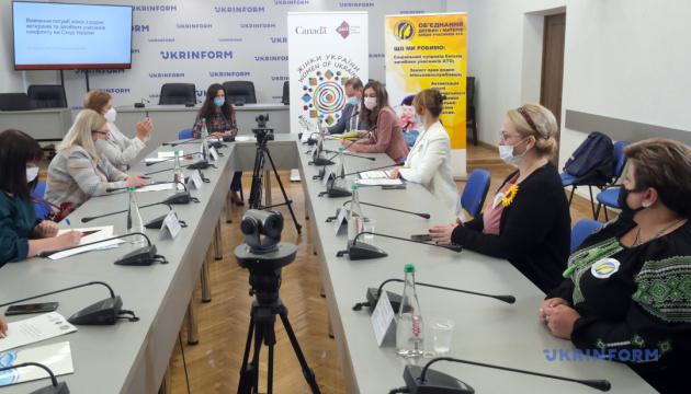 Жінки в родинах загиблих на Донбасі і ветеранів почуваються незахищеними
