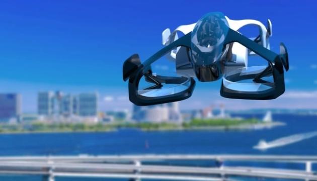 Японський літаючий автомобіль здійснив перший політ з людиною
