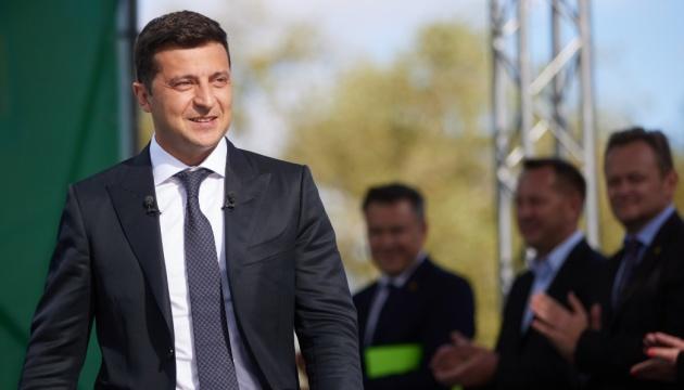 """35% Ukraińców jest zadowolonych z działalności Zełenskiego – sondaż """"Rating"""""""