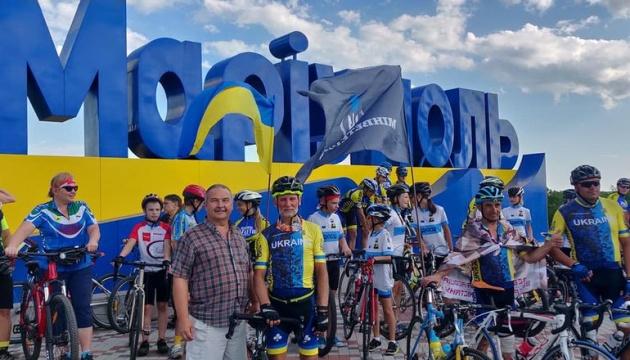 У Маріуполі завершився ветеранський велопробіг
