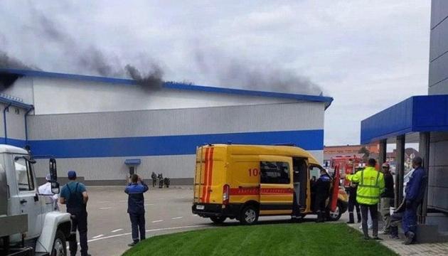Над заводом, де вчора побував Лукашенко, видно дим - ЗМІ