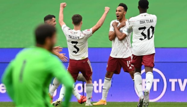 «Арсенал» обіграв «Ліверпуль» і завоював Суперкубок Англії