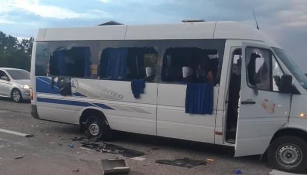 Обстріл автобуса на Харківщині: суд обирає запобіжний захід іще п'ятьом підозрюваним