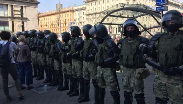 Протести в Білорусі: МВС повідомляє ще про 91 затриманого