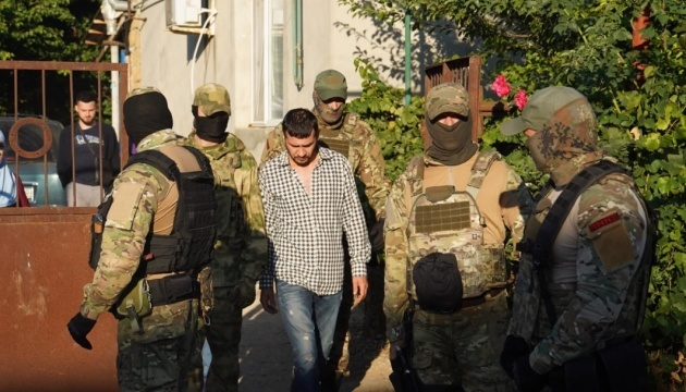 Four Crimean Tatars detained in Russian-occupied Crimea