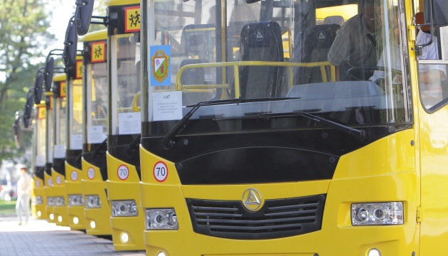 Кабмін перерозподілив 490 мільйонів на шкільні автобуси