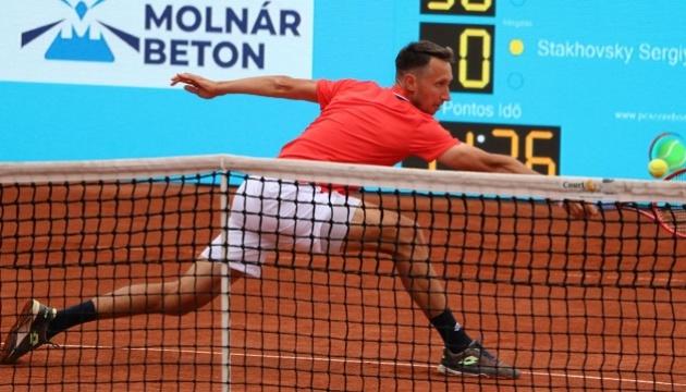 Стаховський здобув перемогу в стартовому матчі на турнірі серії Challenger в Чехії