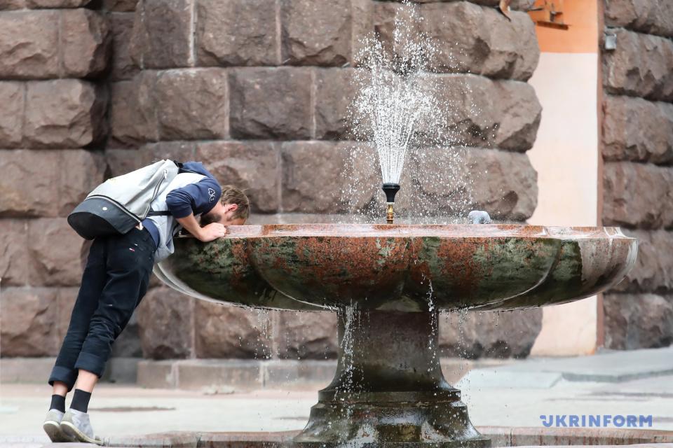 Столична спрага / Фото: Володимир Тарасов, Укрінформ