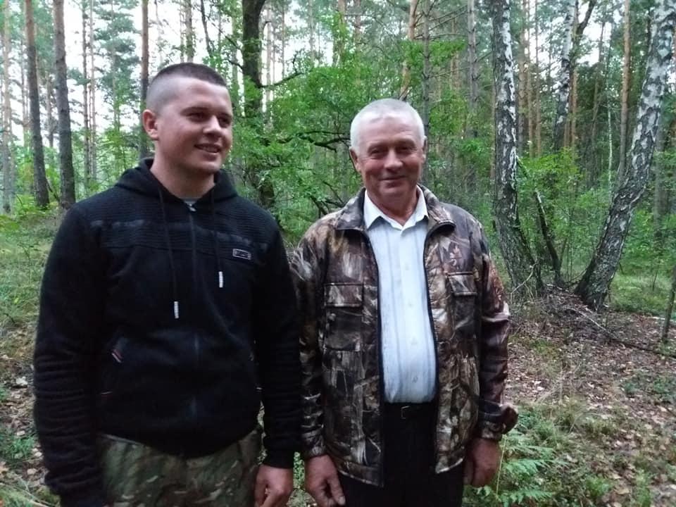 Анатолій Скумін та його син Андрій