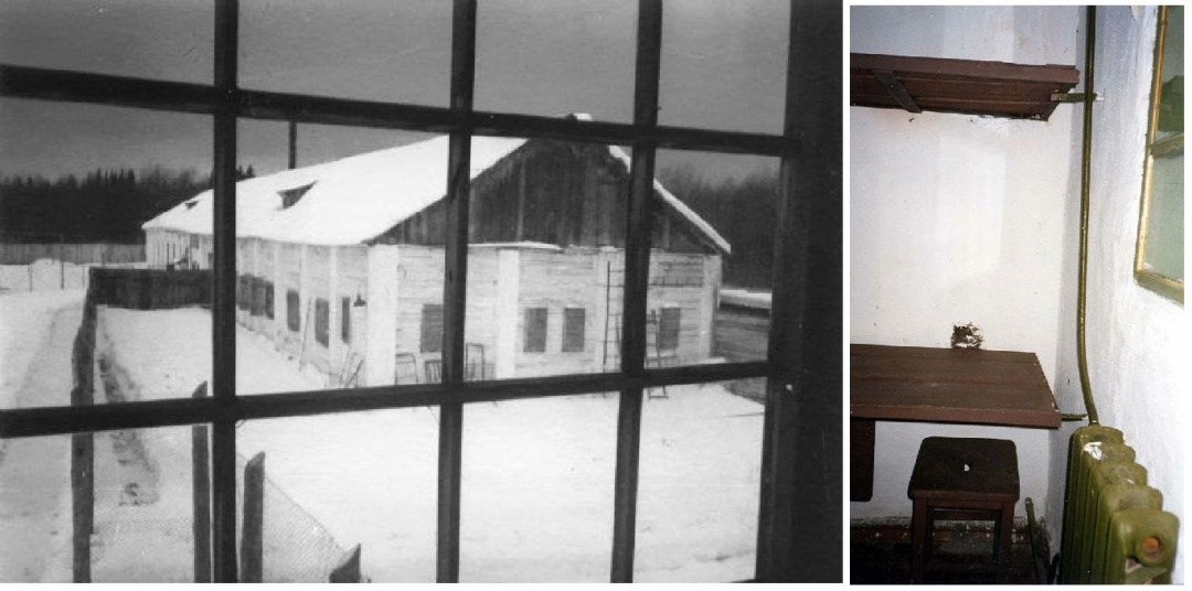 Сучасний вигляд бараку, де провів останні роки життя Василь Стус. Перше вікно зліва - карцер. Фото Василя Овсієнка