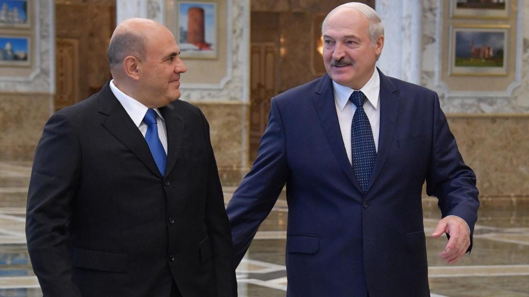 Михаил Мишустин и Александр Лукашенко / Фото: dpa