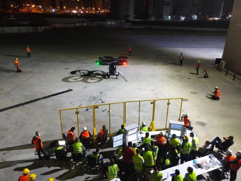 В Турции успешно испытали летающий автомобиль